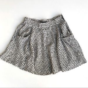 Zara twirly pocketed skirt
